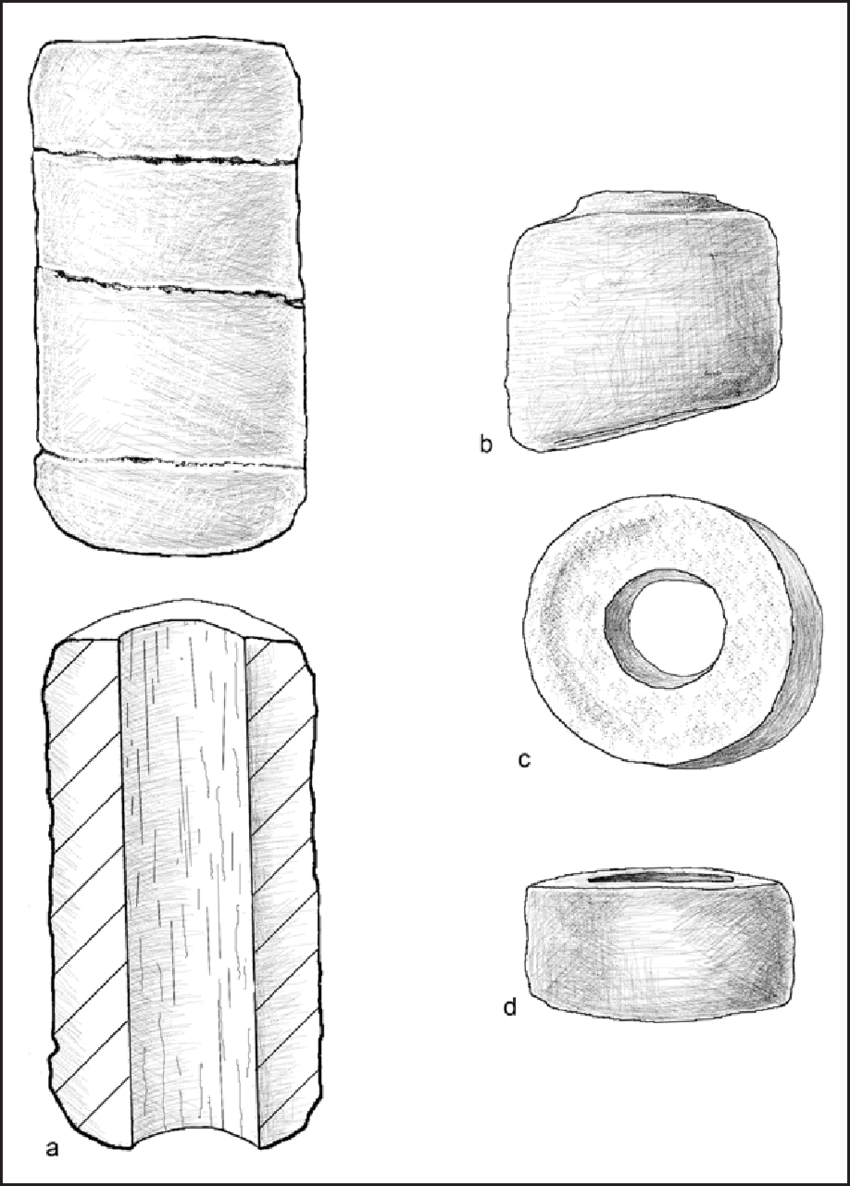 medium resolution of line drawing of fired clay bead manufacture techniques a clay download scientific diagram