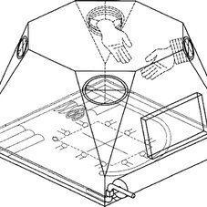 Schematic of an Isolator System for open surgery on the