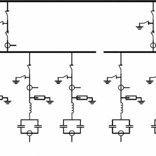 The filters are single tuned standard RLC filters. The