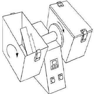 Typical pellet mill design a) ring die and b) flat die