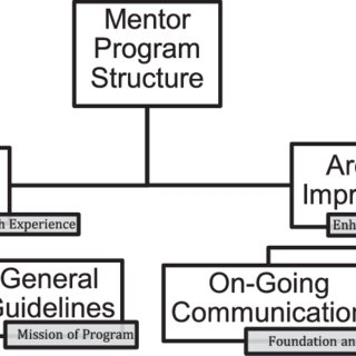 Figure. Themes and subthemes for roles of mentoring for