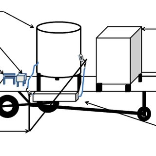 Mobile Intelligent Poultry Feed Dispensing System
