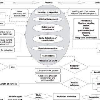 (PDF) A realist logic mode of the links between nurse