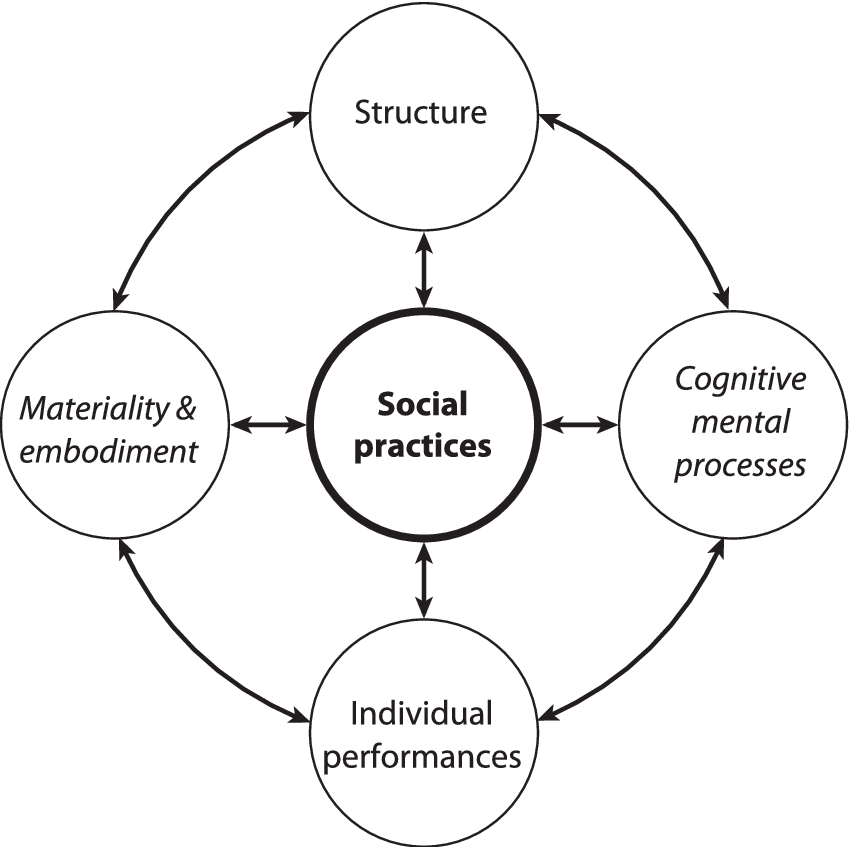 Framing A Theory of Social Practices 4 For other models on