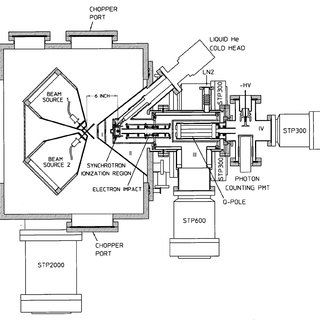 Mechanical drawing of the differential pumping chamber