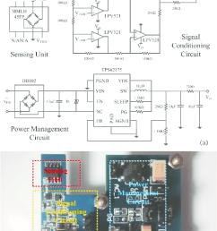design of self powered tmr current sensor a schematic circuit diagram and [ 738 x 1154 Pixel ]