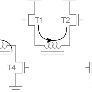 19: 1-Transistor forward converter circuit with a