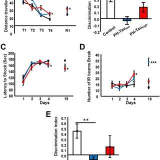 (PDF) Abnormal tau induces cognitive impairment through