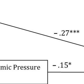 Results of financial behaviors in the Family Stress Model