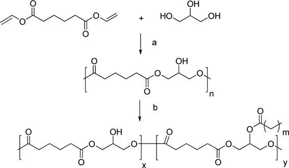 SCHEME 1 Reagents and conditions: a. Novozym 435, 40 8C