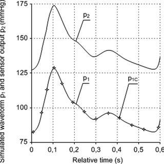 the oscillometric non-invasive blood pressure waveform and