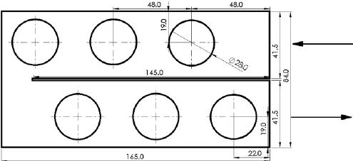 Schematic of the test setup. Description: WP