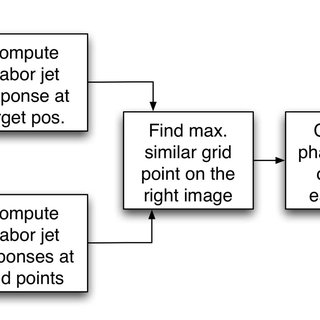 Block diagram of stereo computation used in object