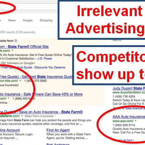 2 search advertising instance