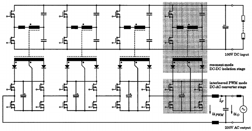 Basic circuit topology of the proposed dc–ac multicell