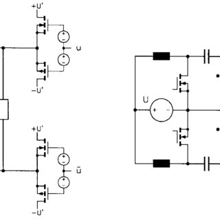 Schematic diagram of the linear amplifier stage