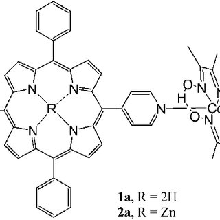 (PDF) Porphyrin–cobaloxime complexes for hydrogen