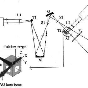 ͑ a ͒ Atomic calcium absorbance spatial distribution using