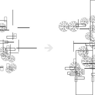 Biomorpher GUI: (a) clustering of 200 designs, (b