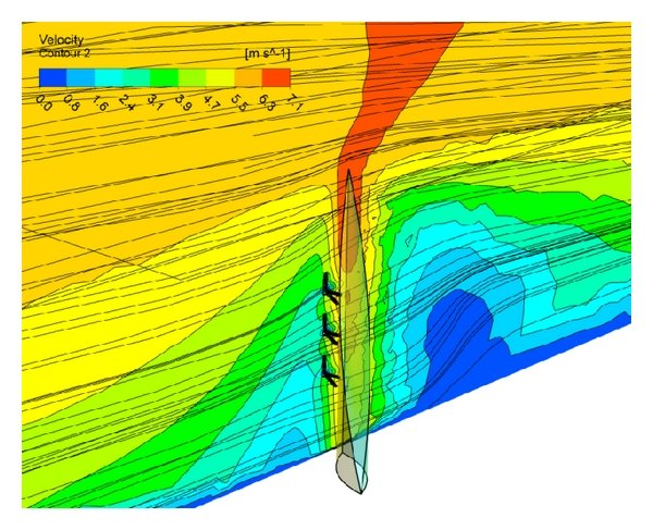 Structural comparison between the vertical axis wind