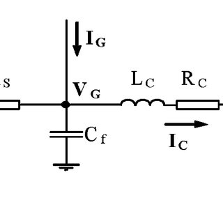 A simplified single line diagram of a sample HVDC