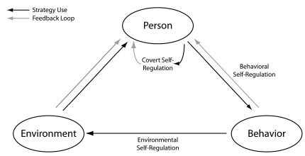 Zimmerman model for self-regulation that highlights the