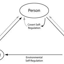 Zimmerman model for self-regulation that highlights the