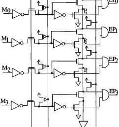 4 bit priority encoder  [ 743 x 1116 Pixel ]