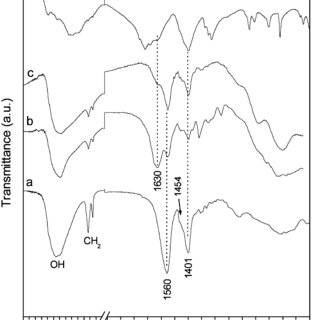 Thermal analysis curves (thermogravimetry, TG, and
