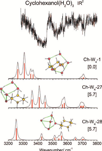 IR mass-resolved spectroscopy of complexes without