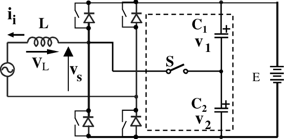 Single-phase low-frequency commutation DC-AC converter A