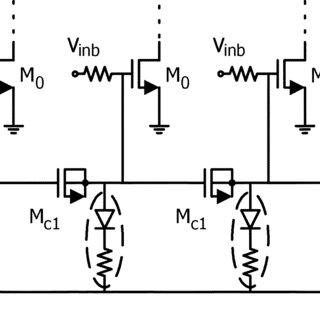 (a) Block diagram of resistive shunt-feedback input