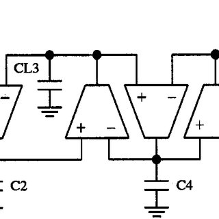 Step response of an amplifier with sufficient phase margin