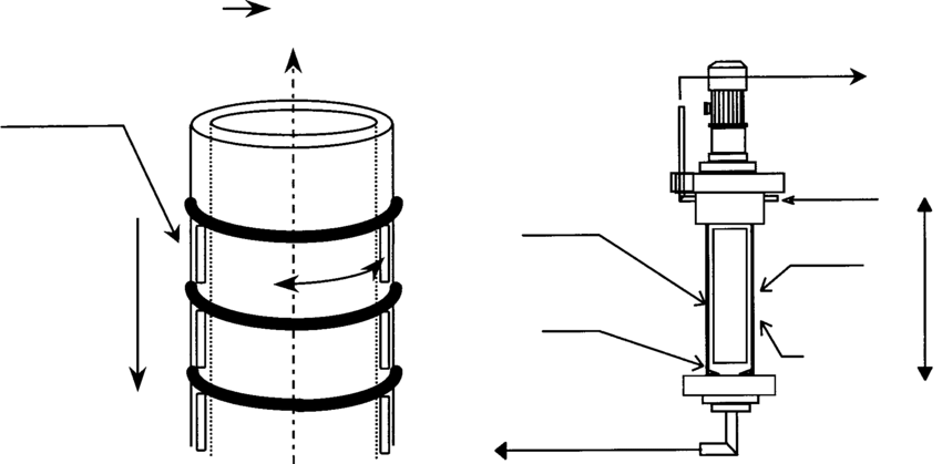 (a) Ideal flow configuration from a chemical engineering
