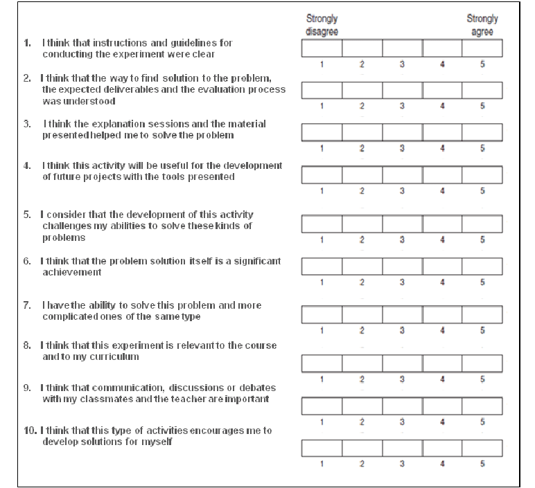 Questionnaire That Examines The Relationship Of Cognitive