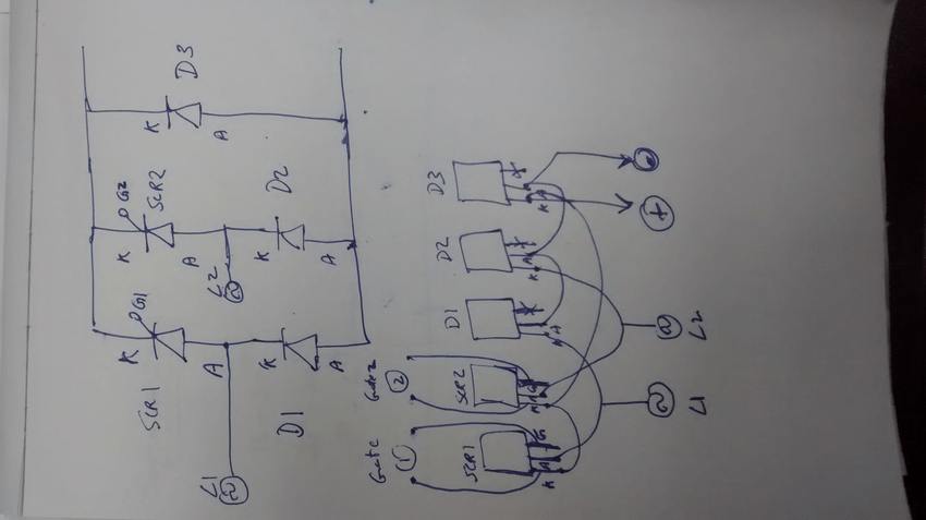 Scr Control Circuits Electronic Circuits And Diagramelectronics