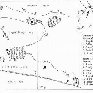 Location of sixteen scoters instrumented with satellite