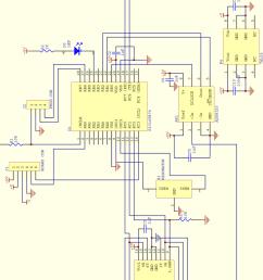 figure b 4 motor board circuit diagram [ 850 x 1382 Pixel ]