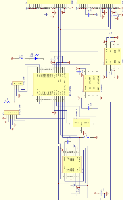 small resolution of figure b 4 motor board circuit diagram