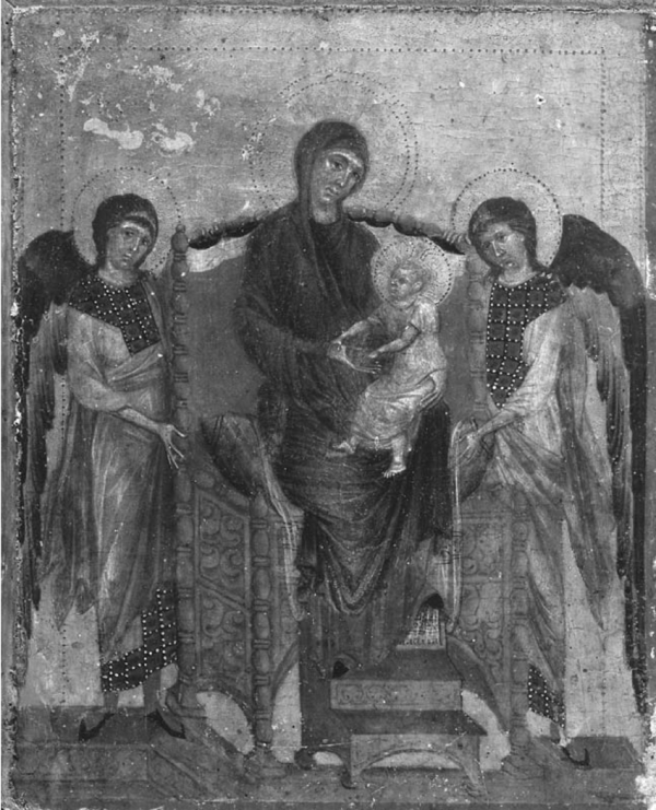 Cimabue Madonna And Child With Angels National