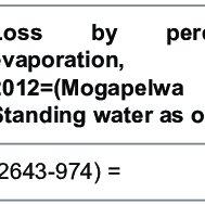 Map of the Okavango Delta showing its major inflow of