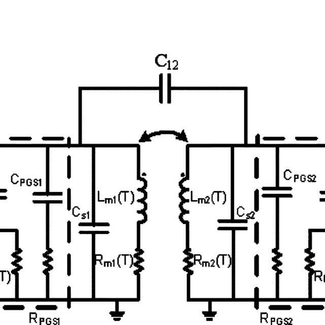 Small-signal circuit models for an interleaved PGS