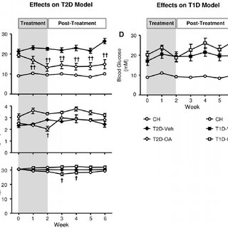 Comparisons of blood glucose and ipGTT between pair-fed