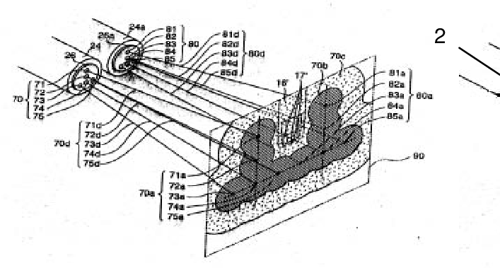 A method for forming the mixture in a direct injection