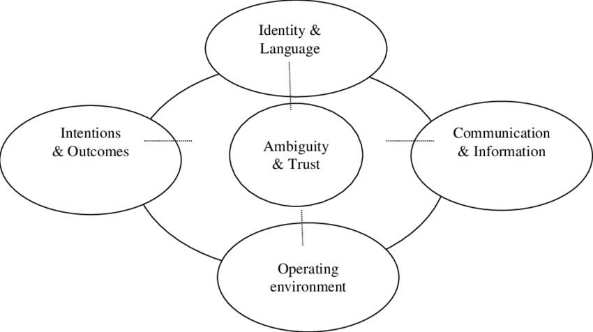 Ambiguity and trust within social enterprise networks