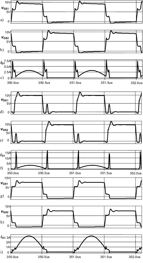 small resolution of pspice simulations of 1mhz class d resonant amplifier a c basic