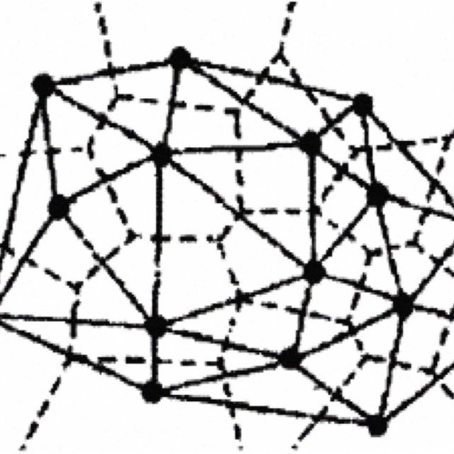 An example showing the network graph and the key graph
