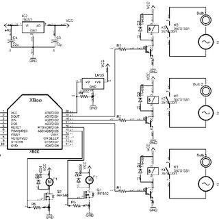 Circuit Design of Temperature Actuator/Sensor Node