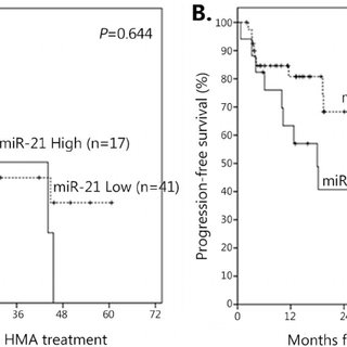 Multivariate analysis for overall response to HMA and