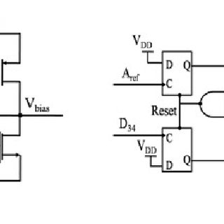 Schematic Diagram of (a) Bias Circuit (b) Phase Detector